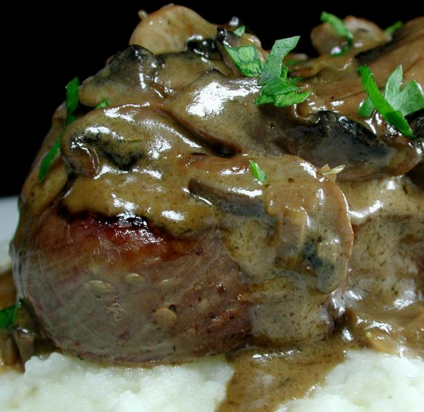 Steak Diane. Photo by Chef floWer