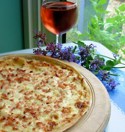 Cream Cheese, Onion & Bacon Tart (France Does Pizza!). Photo by French ...