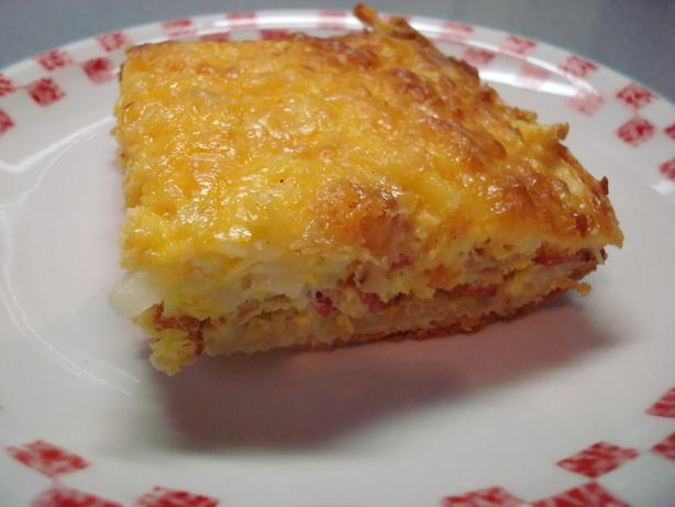 Easy Breakfast Casserole. Photo by wwltmom