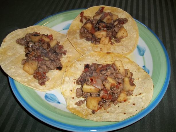 Apple Turkey Picadillo. Photo by rpgaymer