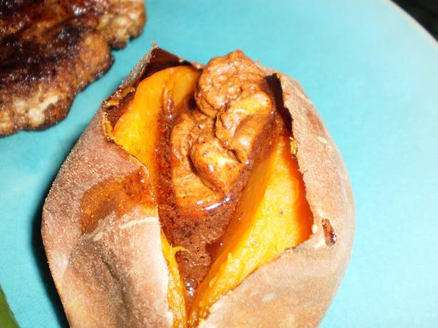 Baked Yams With Cinnamon-Chili Butter. Photo by breezermom
