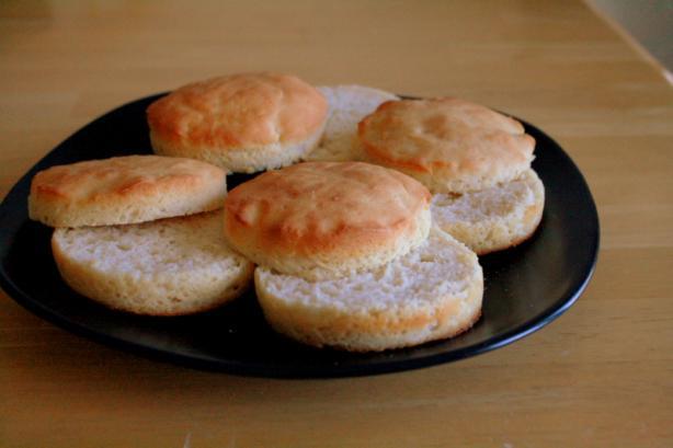 Gluten-Free English Muffins. Photo by chantilita
