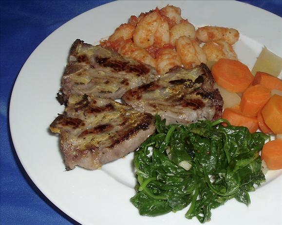 Rosemary Mustard Lamb Chops Recipe - Food.com