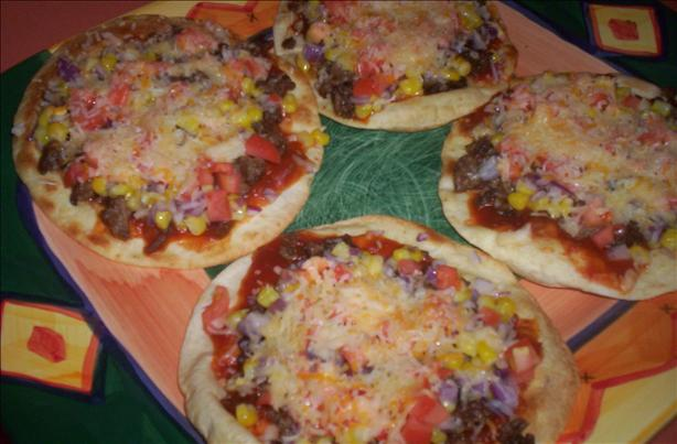 Mini Mexican Pizzas. Photo by Chef shapeweaver