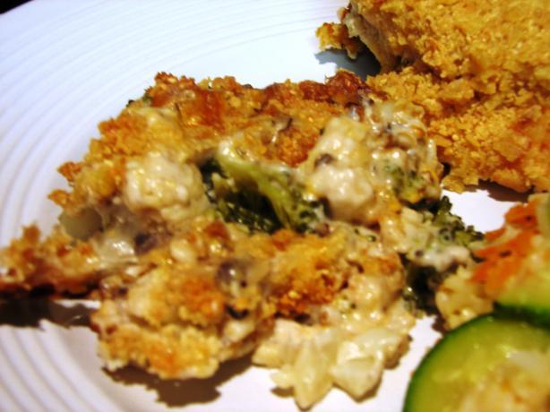Terris Broccoli And Cauliflower Au Gratin Recipe - Food.com
