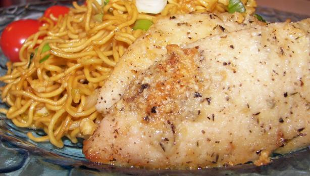 Quick And Easy Garlic Chicken With Parmesan Recipe - Cheese.Food.com