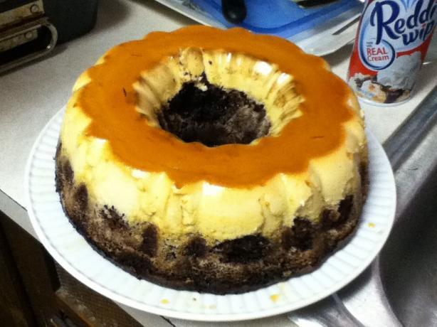 Chocoflan Cake Recipe Video