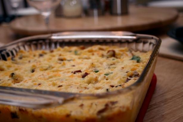 Twice Baked Potato Casserole. Photo by CandyTX