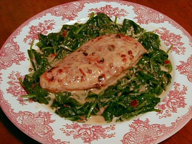 Chipotle Chicken And Creamy Spinach Recipe — Dishmaps