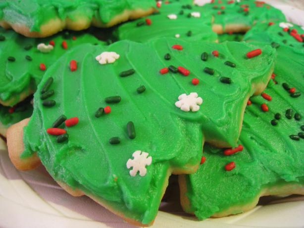 Kittencal's Buttery Cut-Out Sugar Cookies W/ Icing That Hardens. Photo ...