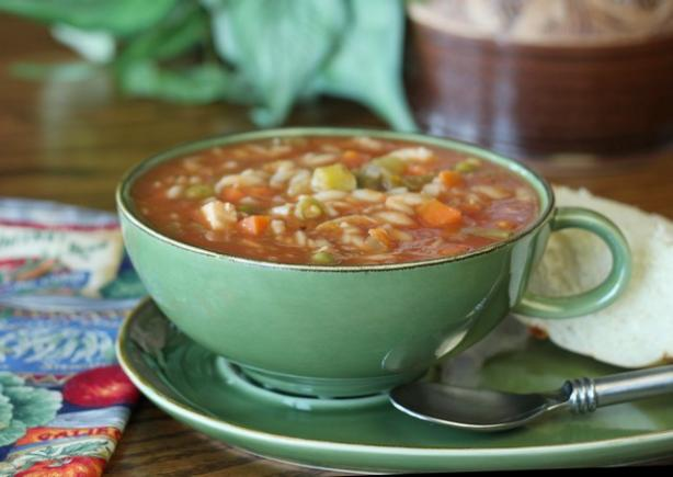 Pantry Vegetable And Pasta Soup Recipe — Dishmaps
