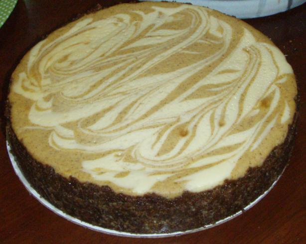 Philly Pumpkin Swirl Cheesecake. Photo by Chef #639091