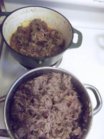 Jamaican Style Red Beans and Rice. Photo by yschoice