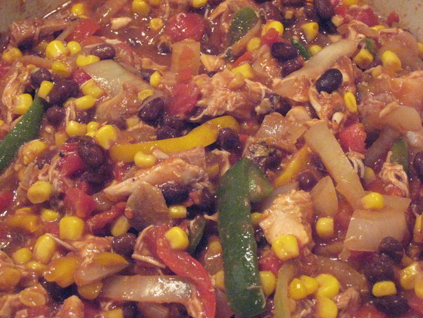 Black Bean Chicken Stew OAMC. Photo by bikerchick
