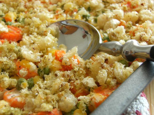 Mixed Vegetable Casserole. Photo by Lalaloula