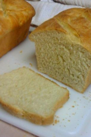 Amish White Bread. Photo by grandma-debbie