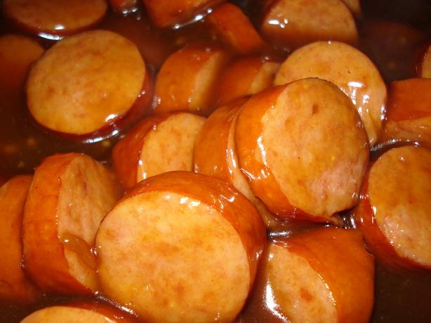 The Best Kielbasa Sausage Appetizer Recipes on Yummly | Kielbasa Appetizers, Easy Appetizer - Slow Cooker Glazed Bacon Wrapped Sausage Bites, Kielbasa Appetizer.