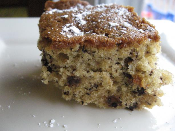 Images Of Chocolate Chip Cake : Cinnamon Banana Chocolate Chip Cake Recipe - Food.com