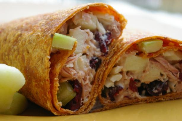 Cranberry Tuna Salad Wrap Recipe - Food.com