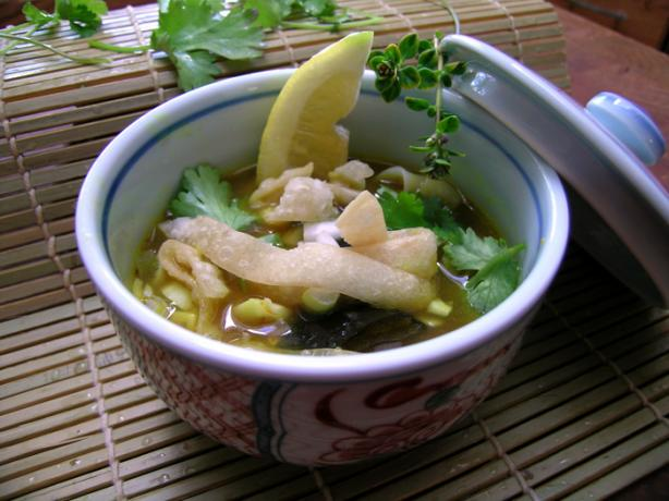 Chiang Mai Curried Noodle And Chicken Soup Kao Soi Gai) Recipe - Thai ...