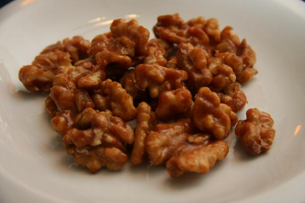 Sweet And Spicy Walnuts Recipe — Dishmaps