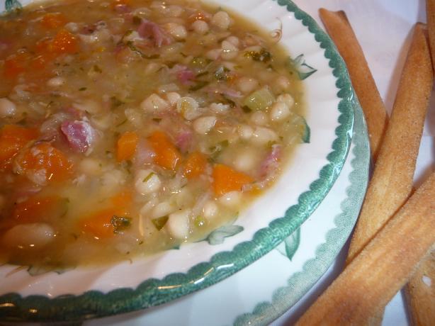 Navy Bean Soup. Photo by Tea Jenny