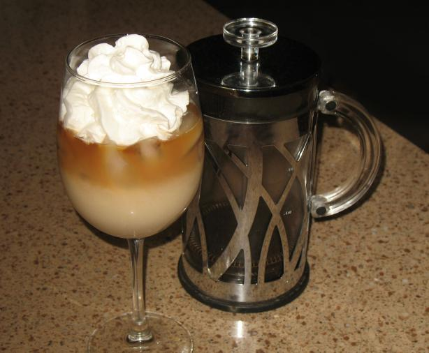 Hazelnut Iced Coffee. Photo by Acadia*