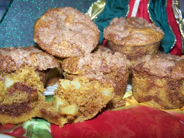 Pumpkin Apple Streusel Muffins. Photo by Sweet Diva