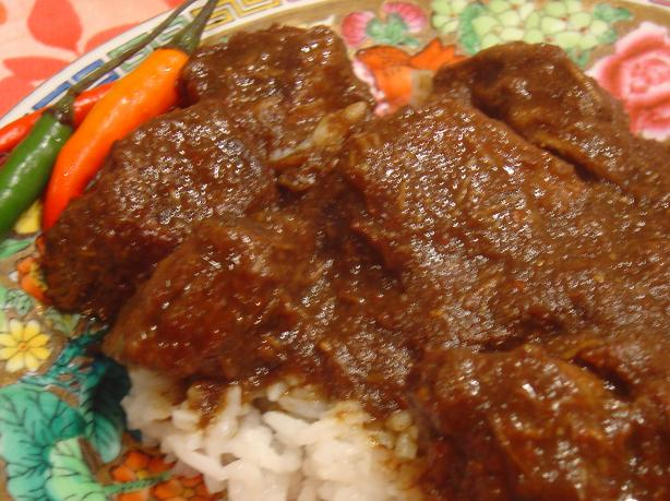 how to make rendang beef with picture