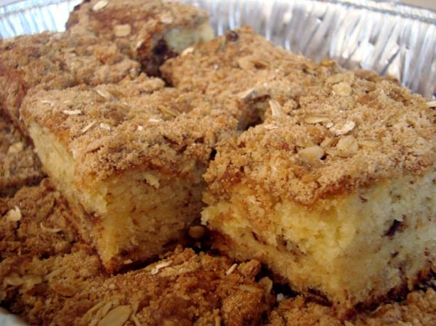 Crumb Cake Or Coffee Cake With Easy Streusel Topping Recipe - Food.com