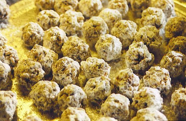 Date nut balls recipe food