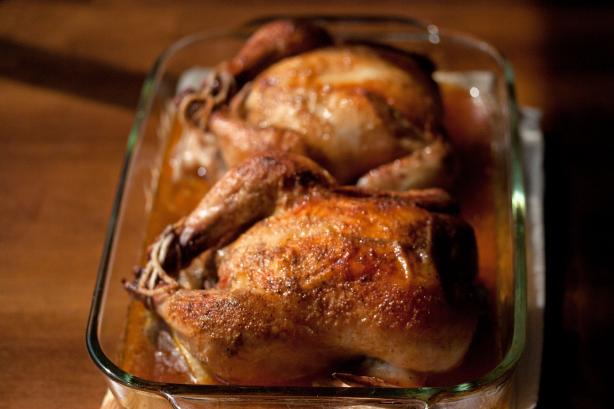 Easy Cornish Game Hens easy fast recipe