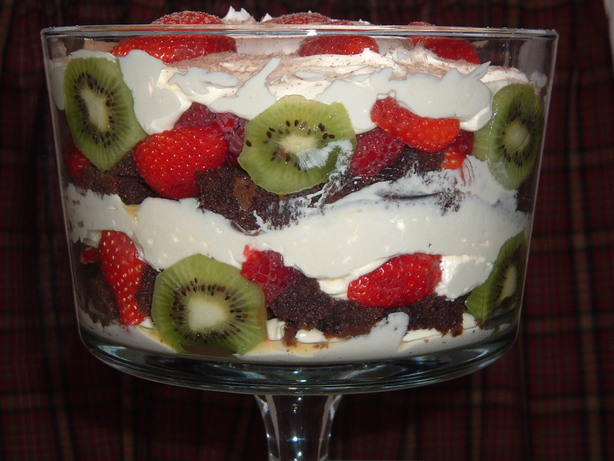 "Holiday Trifle. Photo by ""Food:The Way To Anyone's Heart"""