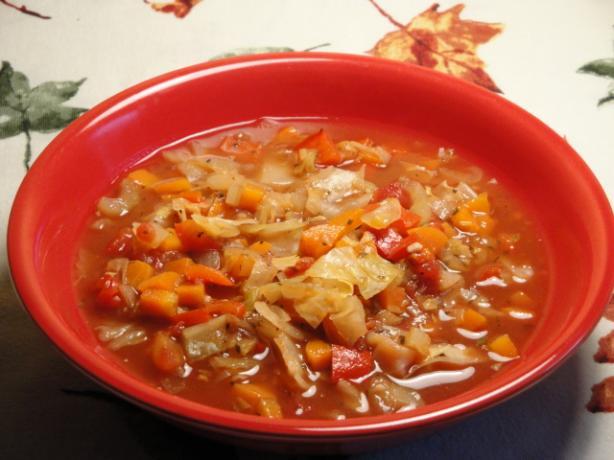Cabbage-Vegetable Soup Recipe — Dishmaps