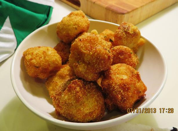 Fried Macaroni and Cheese Balls. Photo by Bonnie G #2