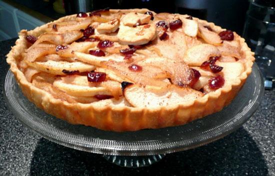 Pear And Cranberry Rustic Tart Recipes — Dishmaps