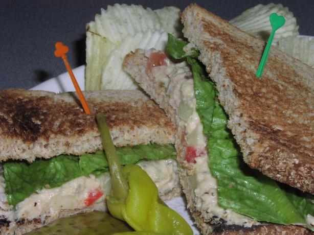 Tuna Fish Sandwich All Grown Up. Photo by TeresaS