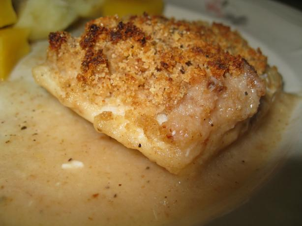 Baked Haddock (Or Scallops/Cod). Photo by KellyMae