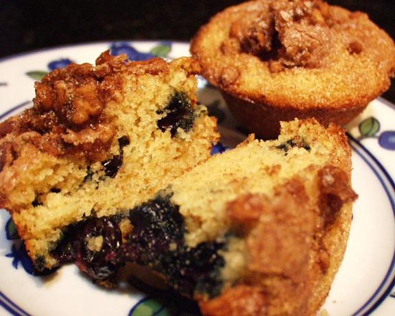 Blueberry Almond Farina Muffins. Photo by FLKeysJen