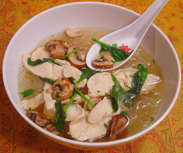 ... soup wicked thai chicken soup food and whine thai chicken noodle soup
