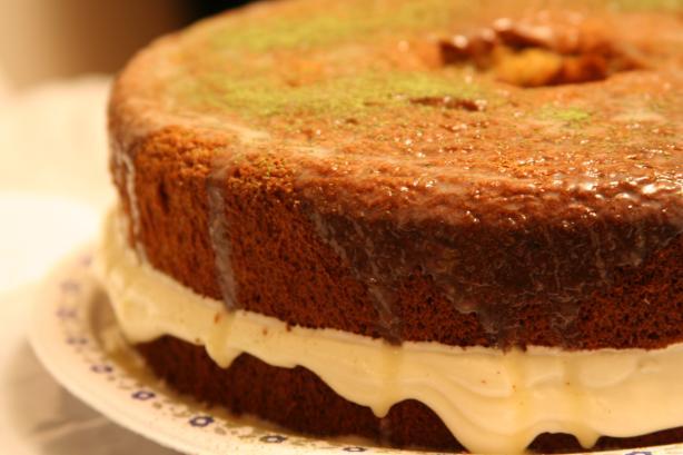 Recipes For Japanese Sponge Cake: Green Tea Japanese Sponge Cake