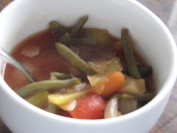 garden vegetable soup weight watchers 0 points per 1 cup