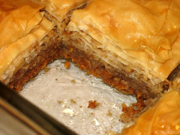 Easy Baklava. Photo by Lori Mama
