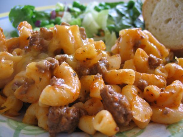 Hamburger And Macaroni Recipe — Dishmaps