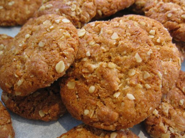 My Anzac Biscuits. Photo by Chickee