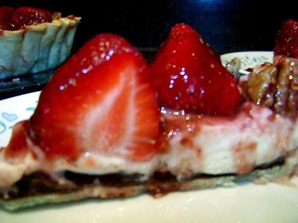 Berry-Licious Cream Cheese Tart / Pie. Photo by Rita~