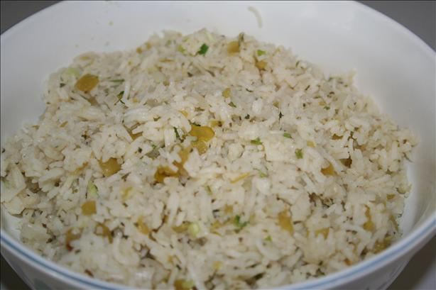 Green Chili Rice Recipe - Mexican.Food.com