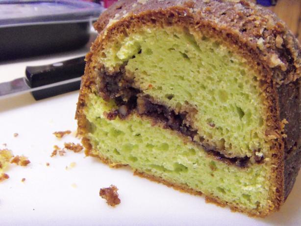 Easy Pistachio Pudding Bundt Cake