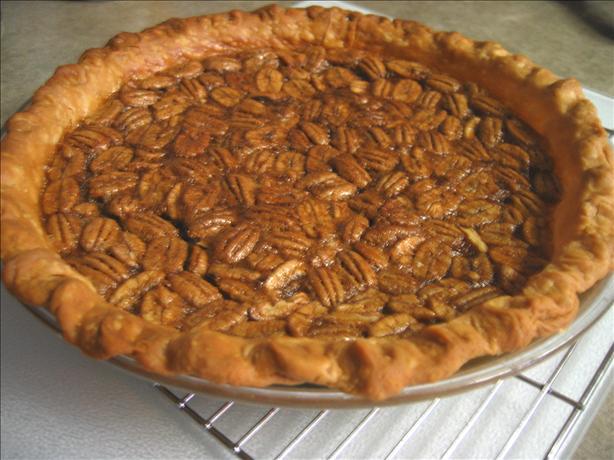 Mom's Southern Pecan Pie. Photo by Junebug
