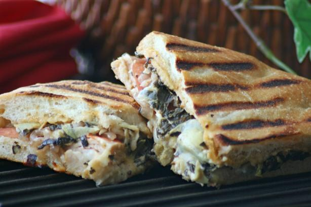 Panera Breads Turkey Artichoke Panini Recipe - Food.com